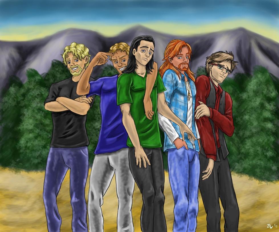 VC Boys by EternallyMJ