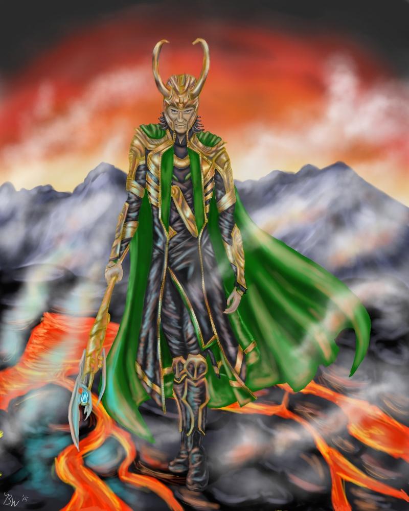 The Stalk of Loki 2 by EternallyMJ