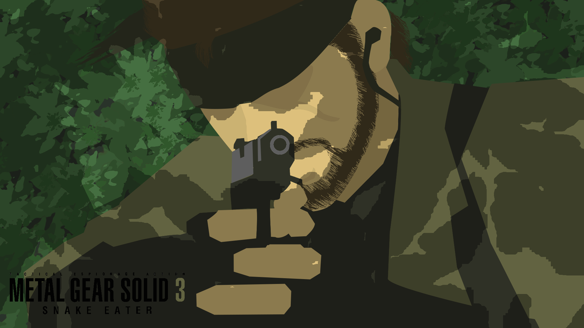Metal Gear Solid Minimalist Wallpaper 1 By Bobby Boberman On