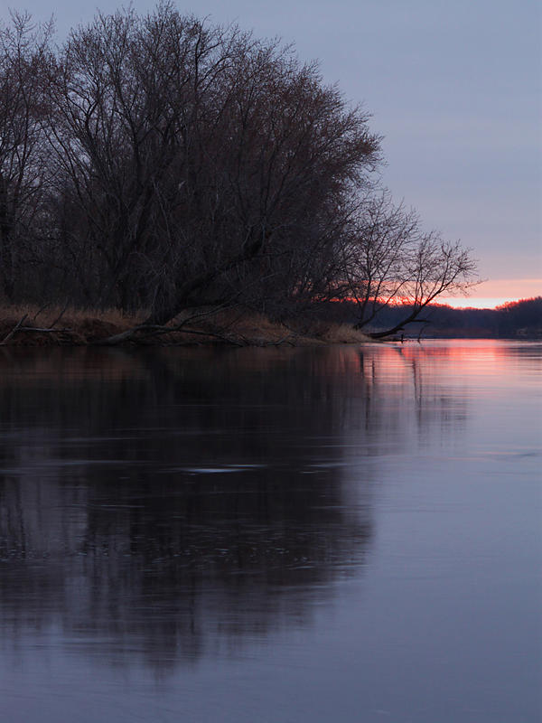 Early Morning on the Wisconsin by papatheo