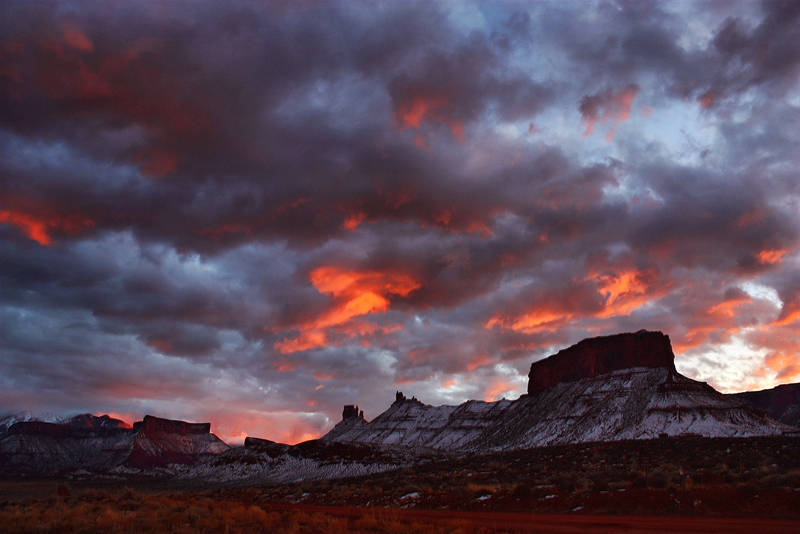Sky on Fire by papatheo