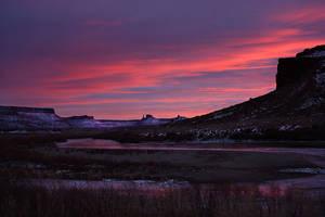 Nightfall on the Colorado by papatheo