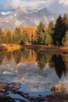 Grand Teton Reflection by papatheo