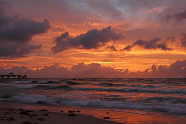 Fiery Sunrise by papatheo