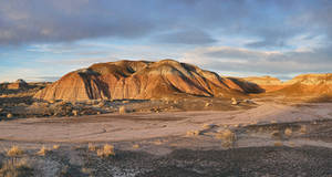 Late Light at Painted Desert by papatheo