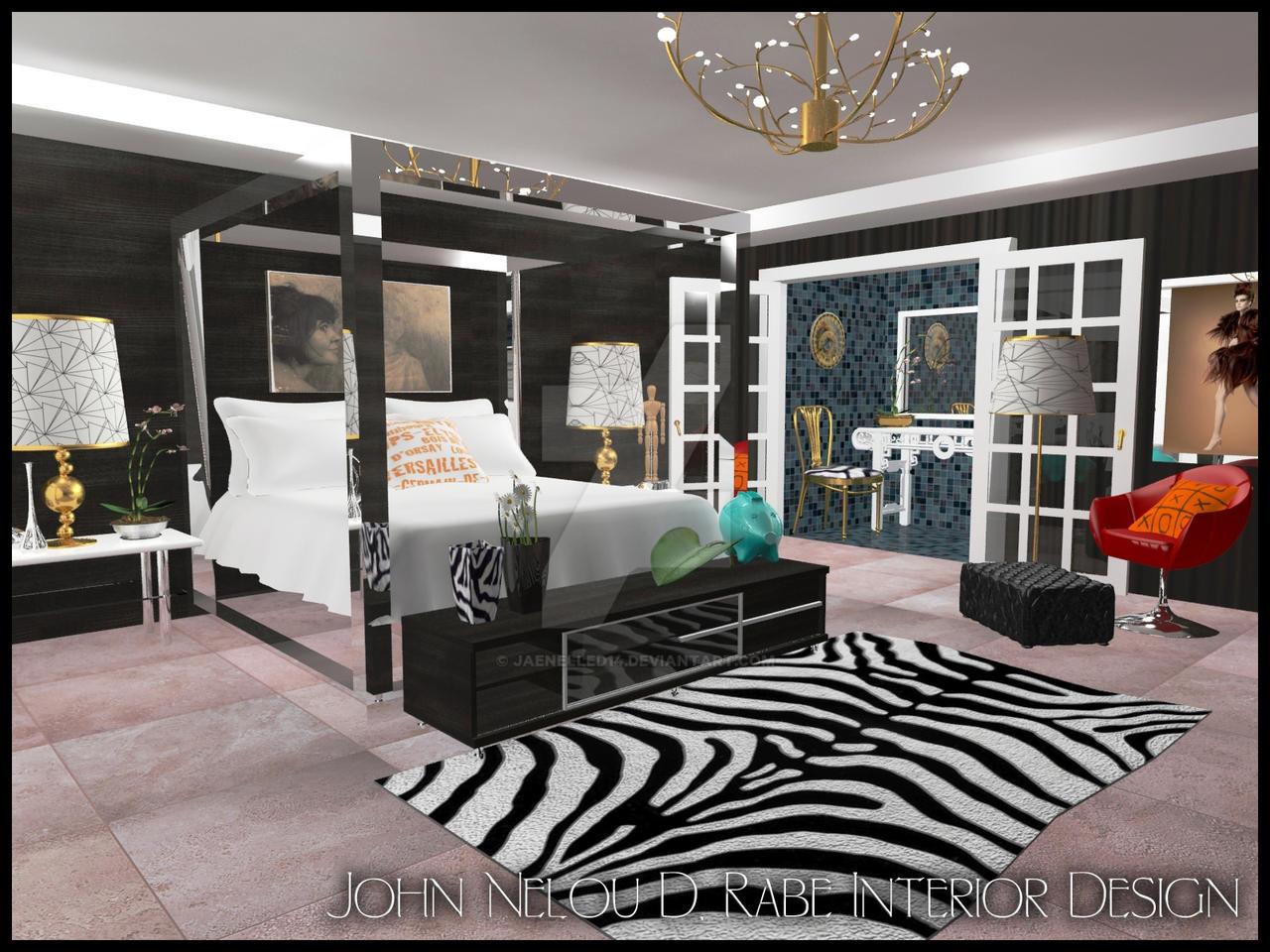 Jonathan Adler Inspired Bedroom By JaeNelled On DeviantArt - Jonathan adler bedroom