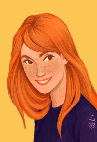 Ginny Weasley by IzziBelle