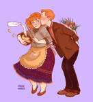HPShipweeks : Week 3 - Molly/Arthur