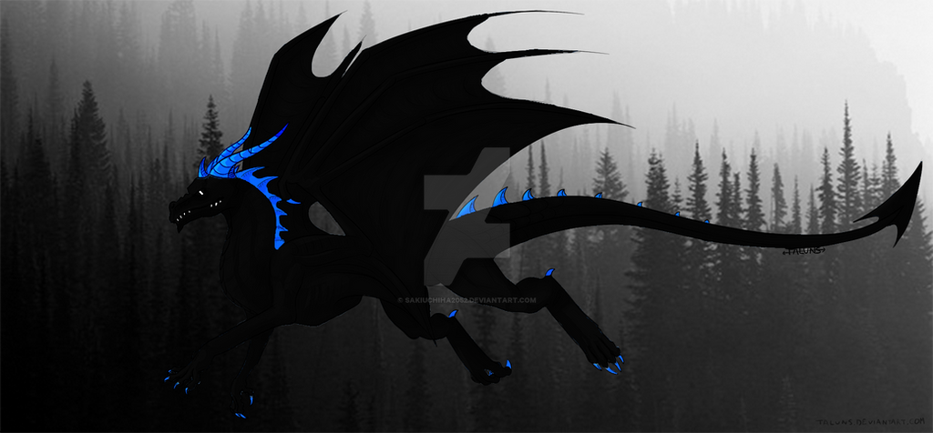 Dark Flame-Darkness Dragon by ToothlessAndre