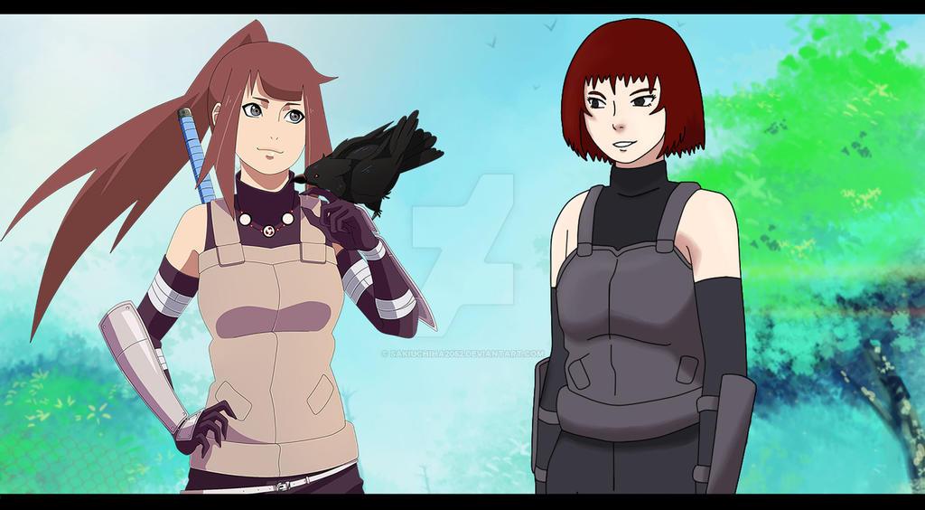Collab- Saki and Hana by SakiUchiha2052