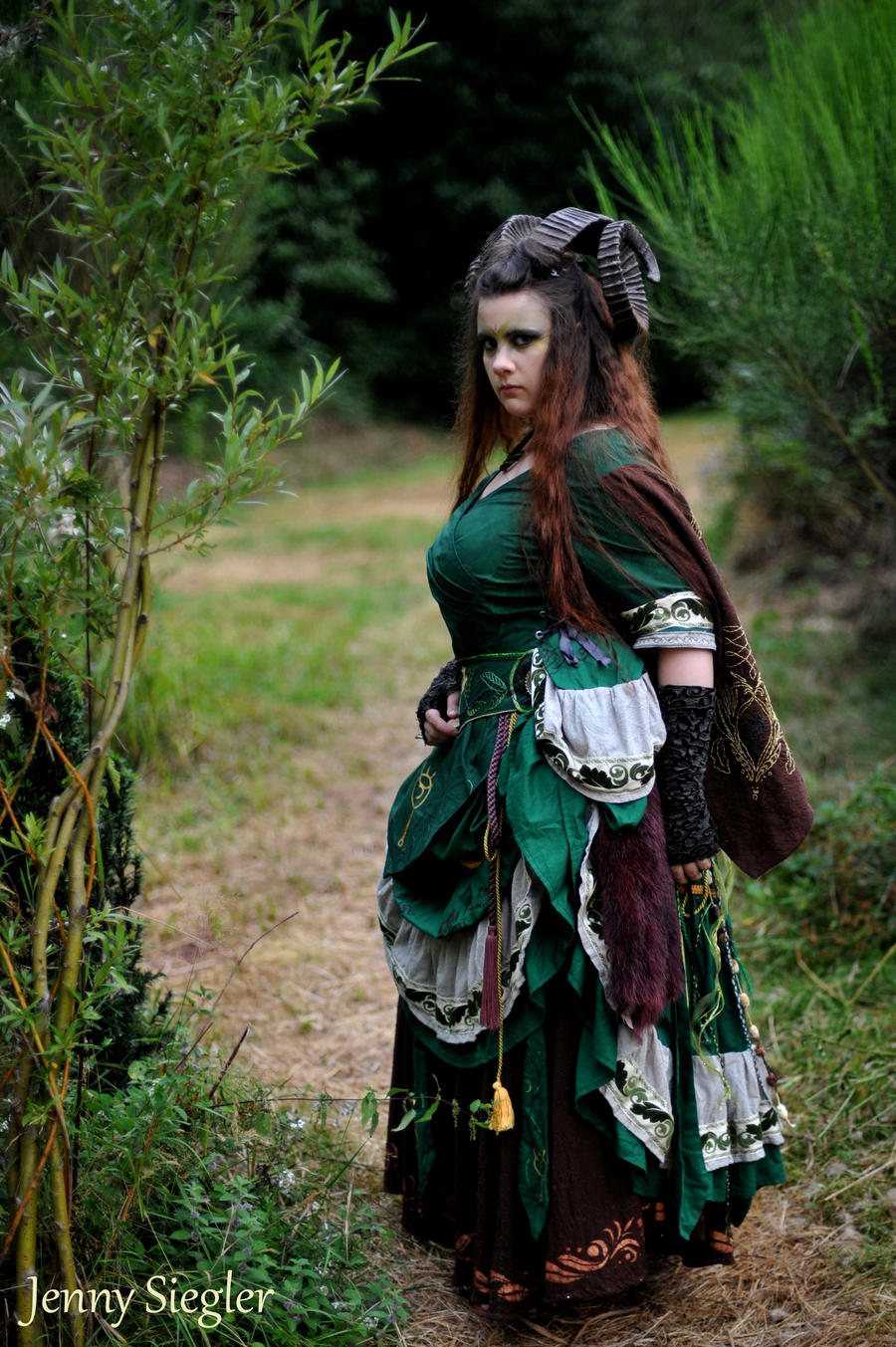 Witch Ritual Dress 2.1 by corsetiere on DeviantArt