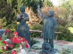 Bewildered Children Statues