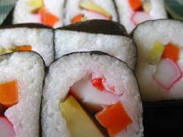 Sushi Glamour by itsayskeds