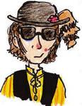 Jeffrey Mylett With Sunglasses