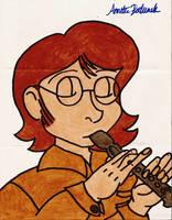 Recorder-Playing Jeffrey by itsayskeds