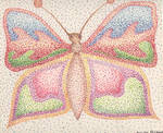 Pointillismish Butterfly