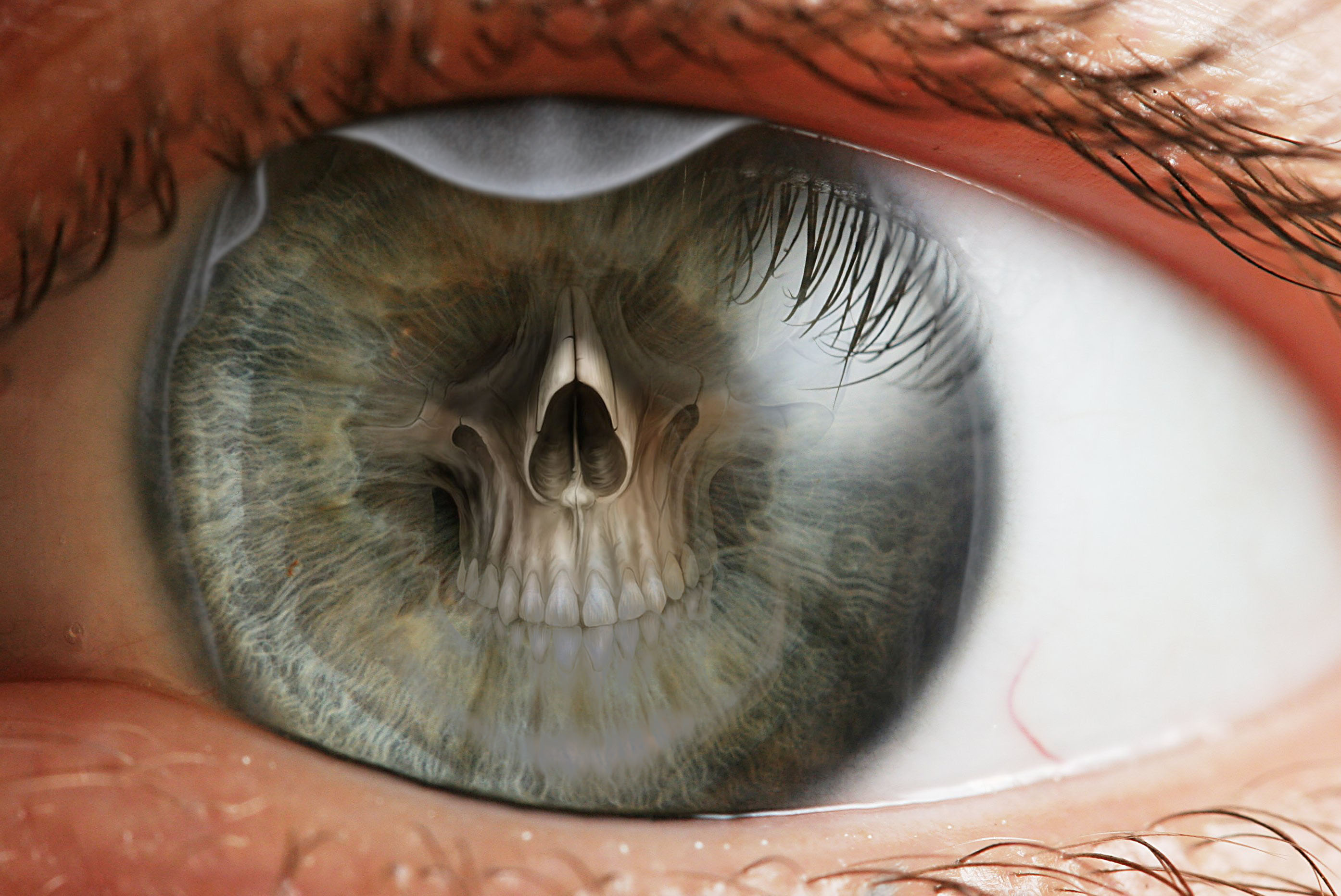 What do some of you mean when you say that someone near death, eyes change?
