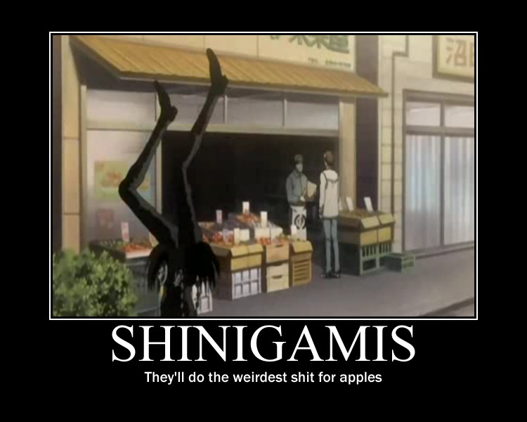 Shinigamis are weird by DouglasNereus