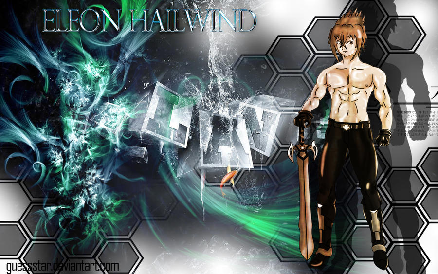 Wallpaper of Eleon Hailwind by GuessStar