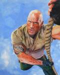 Dwayne Johnson by JunkDrawings
