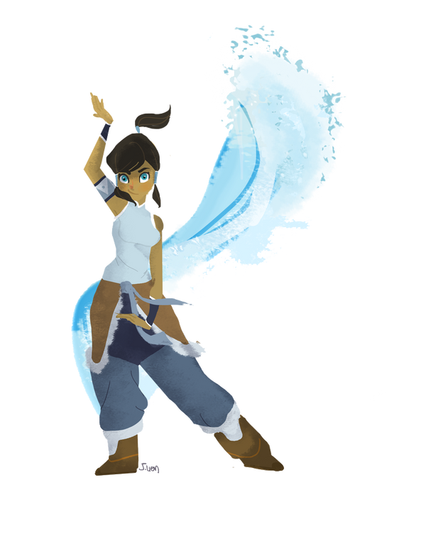 K for Korra by fooshigi