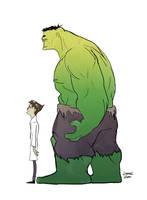 Bruce 'Hulk' Banner by fooshigi