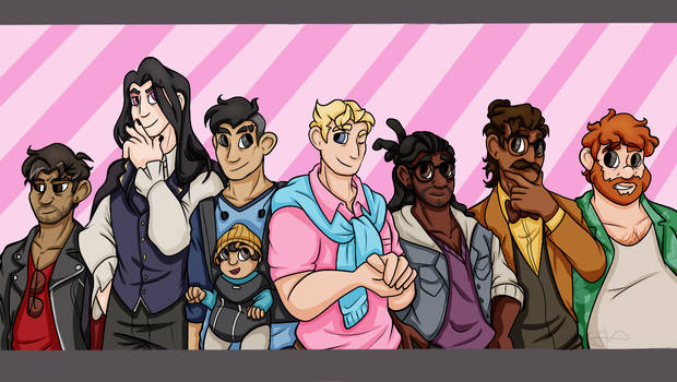 all the dads by asymmetric-ace