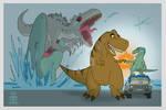 Jurassic world-Nakama powa