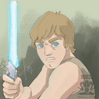 Luke Skywalker by SEL-artworks