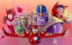 Avengers Infinity War (Upper)