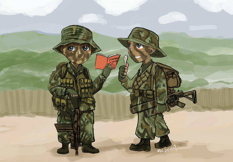 SASR in Vietnam by lazyseal8