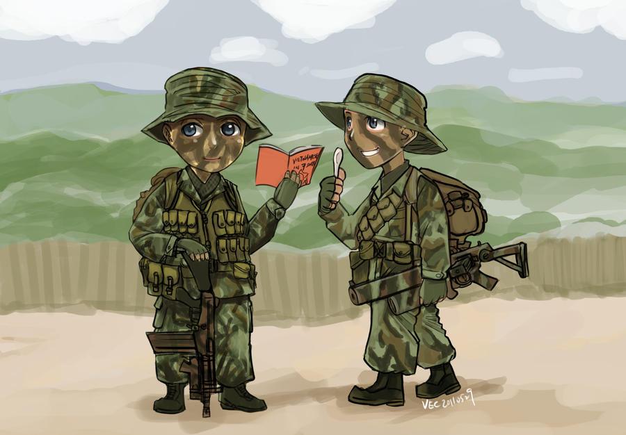 SASR in Vietnam by lazyseal8
