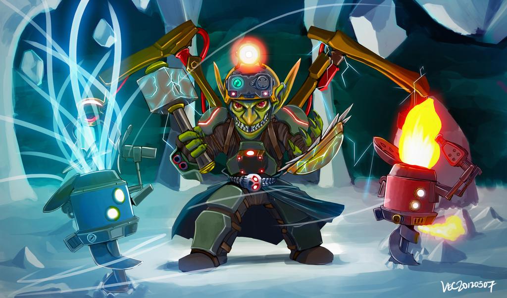 Goblin Shaman by lazyseal8