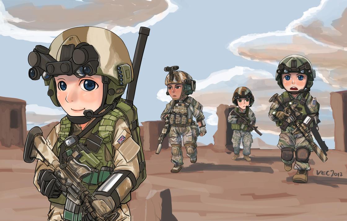 SAS squad by lazyseal8
