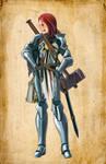 Argent Crusader Miria