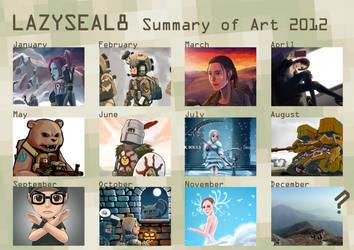 Summary of Art 2012 by lazyseal8