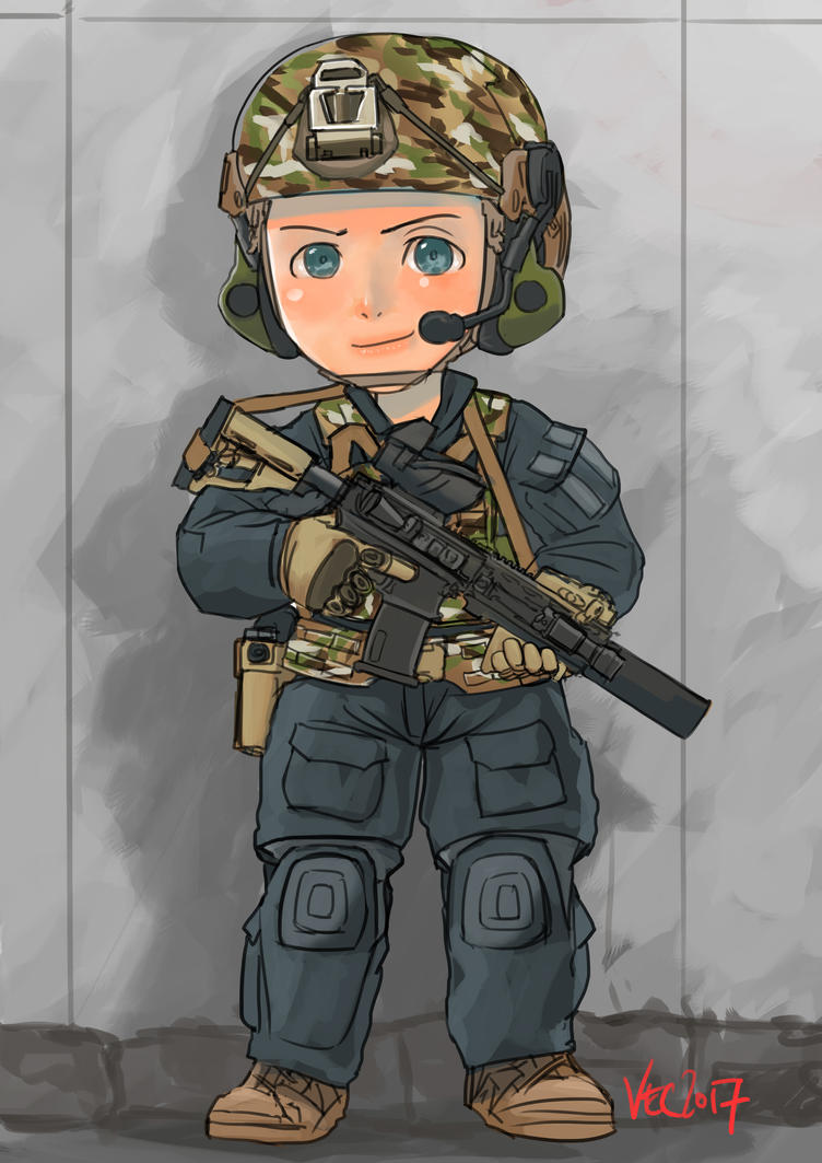 SAS black kit by lazyseal8