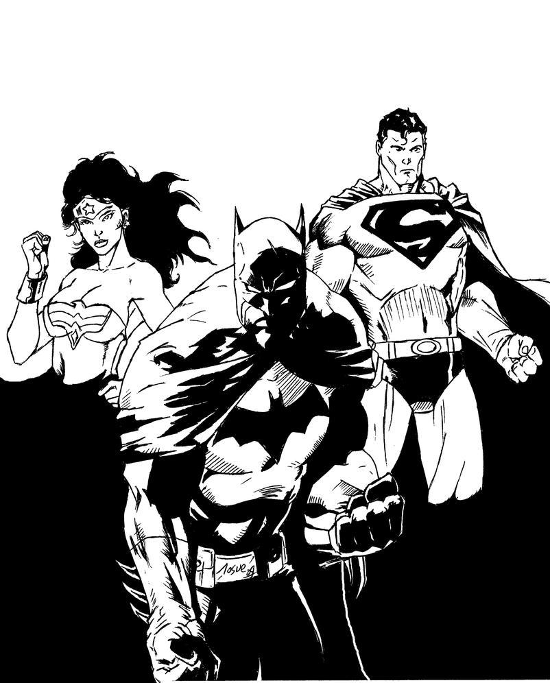 DC Heroes by BIG-D-ARTiZ