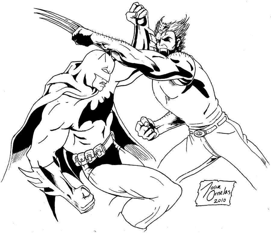 Marvel Deadpool Ausmalbilder Gratis: Wolverine Vs Deadpool Coloring Pages Coloring Pages