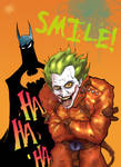 Batman and the Joker - Smile