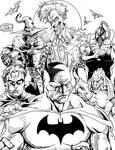 The World of Batman - Inks