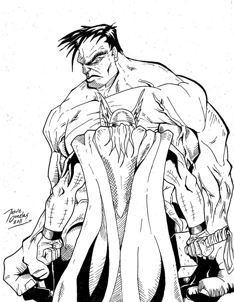 Hulk Vs Thor Sketch By BIG-D-ARTiZ On DeviantArt