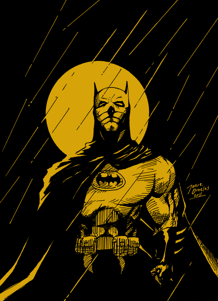 Batman - Moon sketch by BIG-D-ARTiZ on DeviantArt