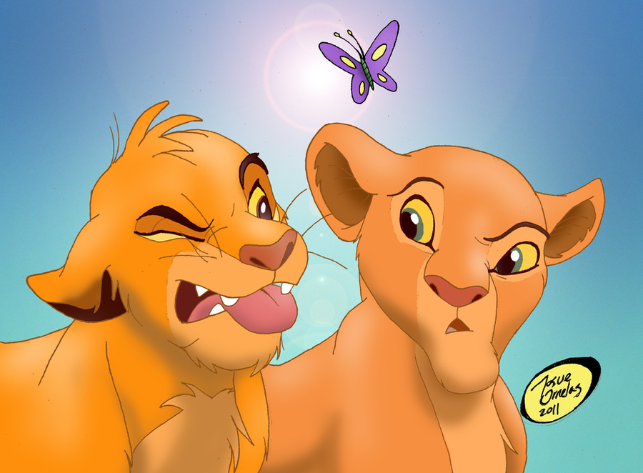 Simba and Nala - Sunsh...