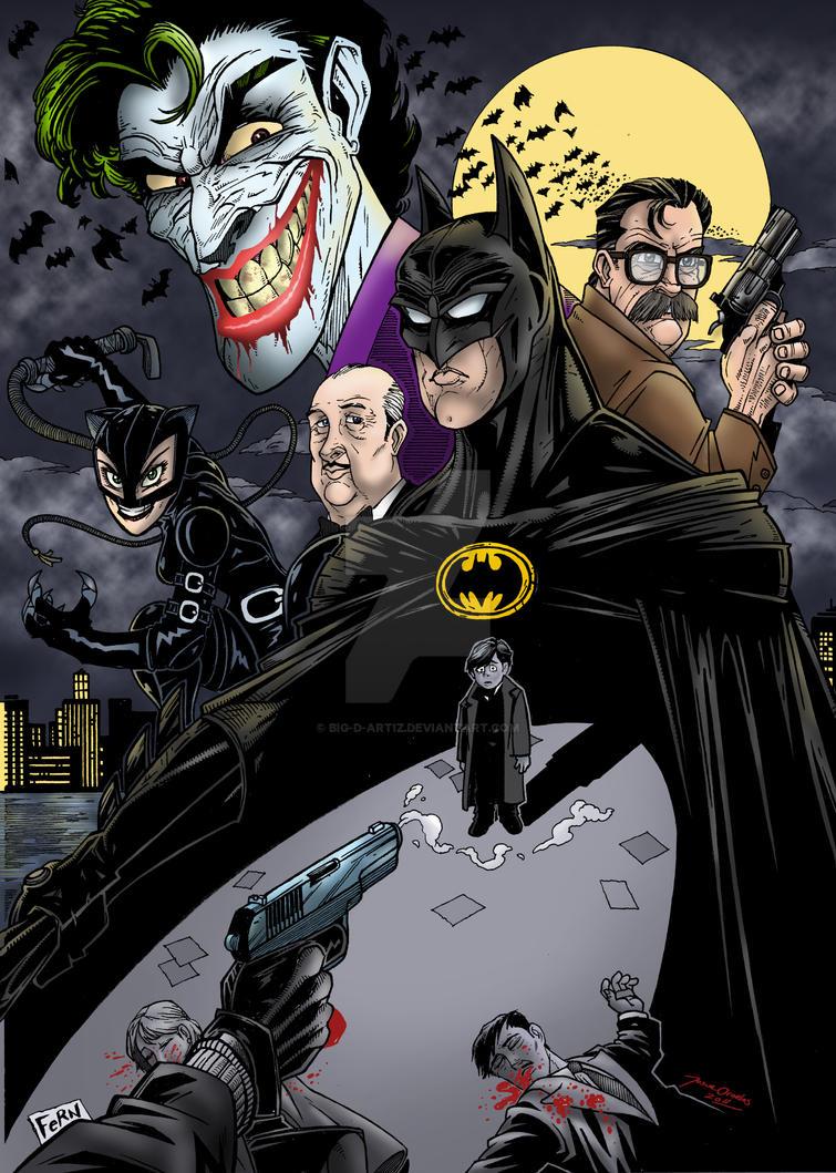 Batman Begins by BIG-D-ARTiZ on DeviantArt
