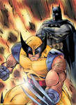Wolverine and Batman