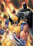 Wolverine and Batman