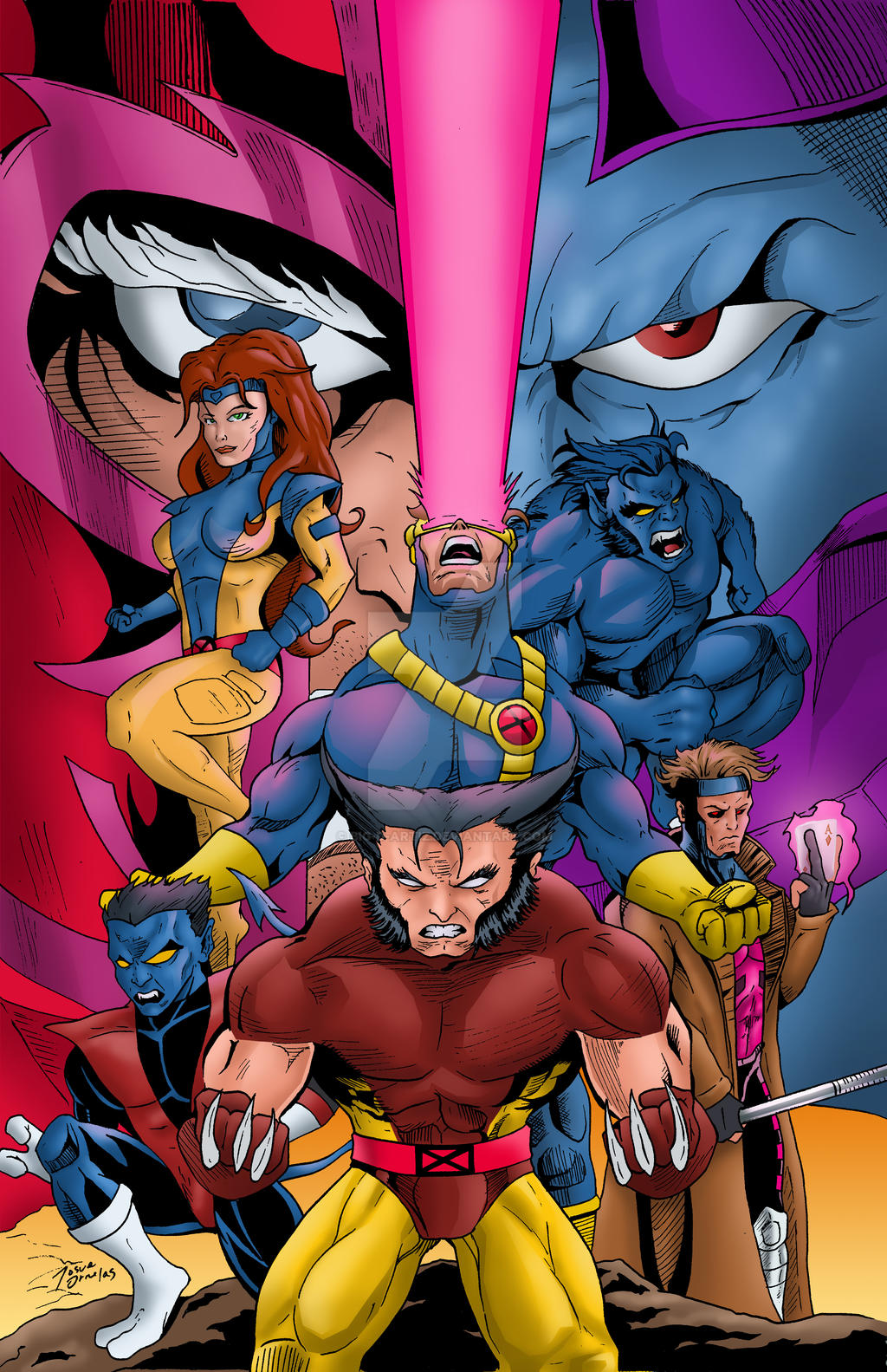 Classic X-MEN by BIG-D-ARTiZ