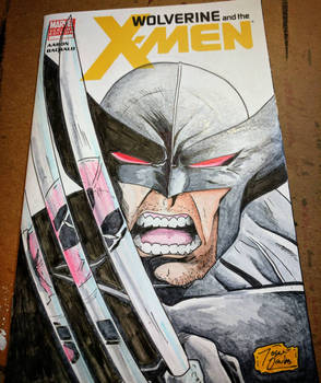 wolverine variant cover