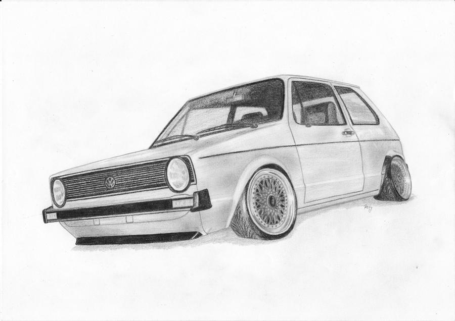 vw golf i by paty47